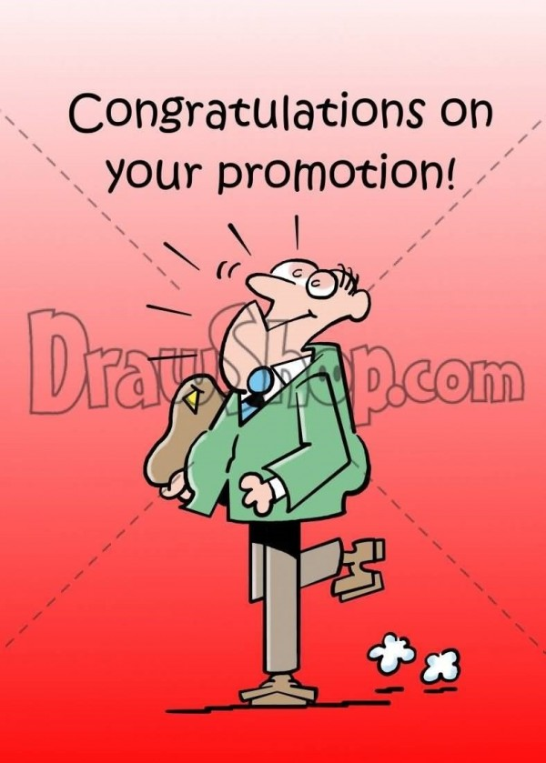 Congratulations on your promotion