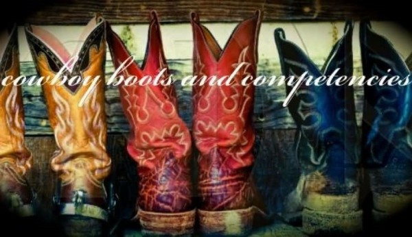 Cowboy boots and competencies