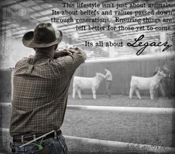 This lifestyle isnt just about animals its about beliefs and values passed down