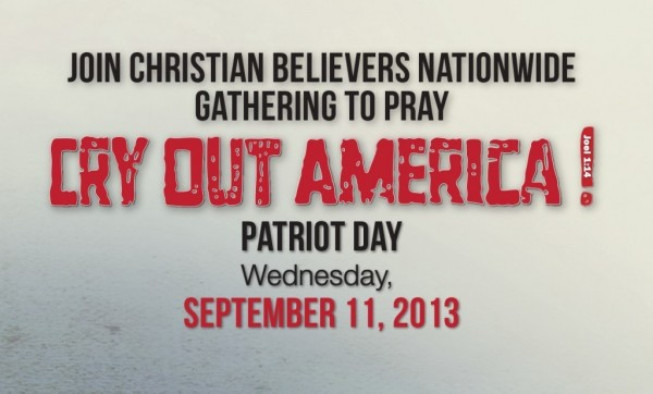 Cry out america patriot day