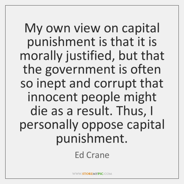 tok is capital punishment justified Capital punishment: justified main points perspectives knowledge issue documents similar to tok knowledge isssues skip carousel.