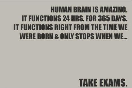 Human brain is amazing it functions 24b hrs for 365 days