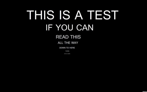 This a test if you can read this all the way