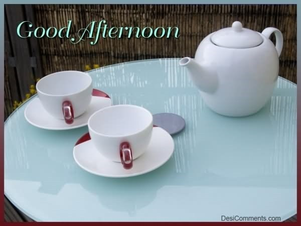 Good afternoon tea cups