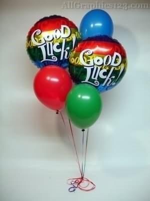 Good luck on balloons