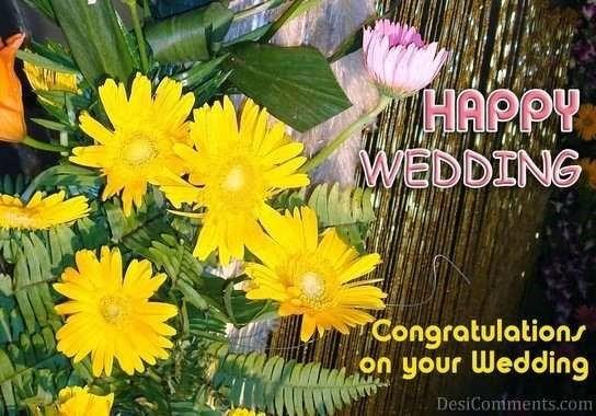 Happy wedding congratulations on your wedding