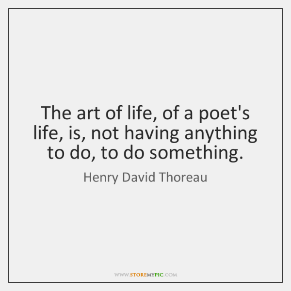 the life and contributions of henry david thoreau a poet