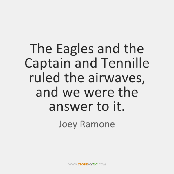 The Eagles and the Captain and Tennille ruled the airwaves, and we ...
