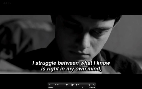 I struggle between what i know is right in my own mind