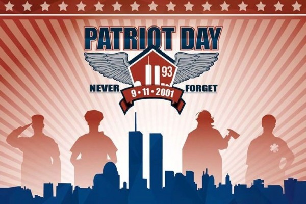 Patriot day never forget 9. 11. 2001