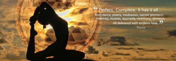 Perfect complete it has it all from dance poetry meditation sacred geometry