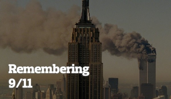 Remembering 9 11 patriot day smoke out of twin towers