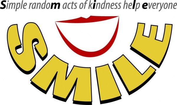Simple random acts of kindness help everyone smile