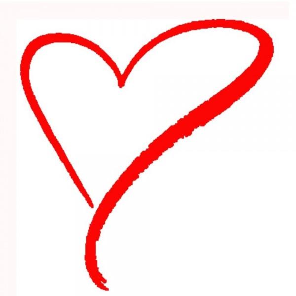 Simply beautiful heart design