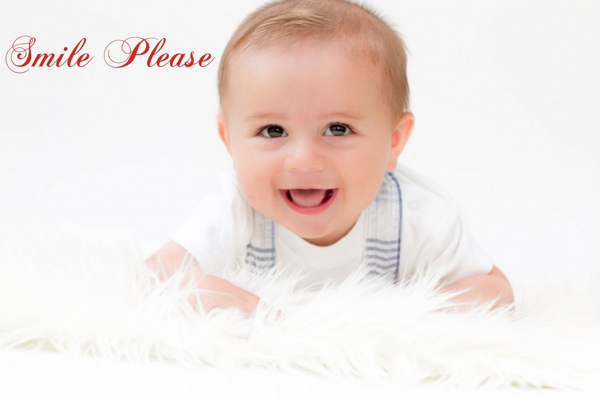 smile please cute baby - storemypic