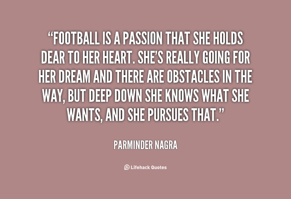 Football Is Passion That She Holds Dear To Her Heart Storemypic