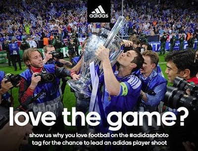 Love the game show us why you love football on the addidasphoto tag for the chance to l