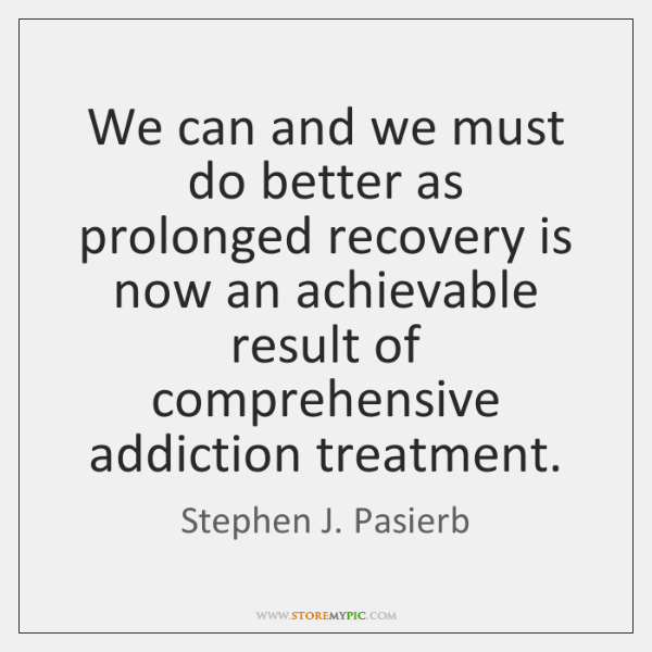 We can and we must do better as prolonged recovery is now ...