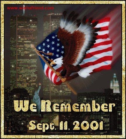 We remember september 11 2001 patriot day