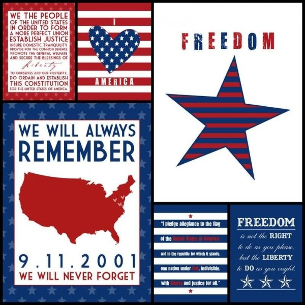 We will always remember 9. 11. 2001 we will never forget card