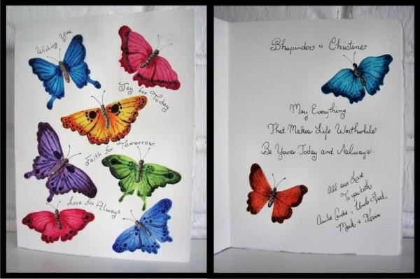 Wedding wishes greeting card 002