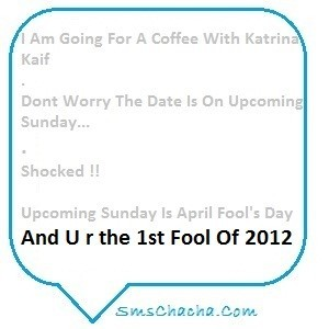 I am going for a coffee with katrina kaif dont worry the date is on upcoming sunday
