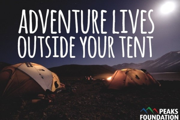 Adventure lives outside your tent