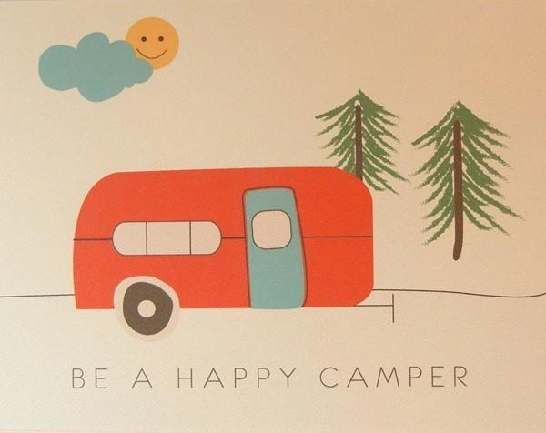 Be a happy camper
