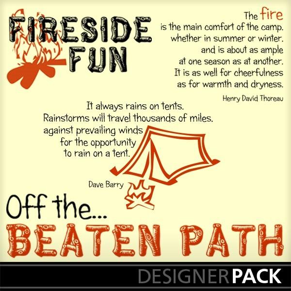 Fireside fun off the beaten path