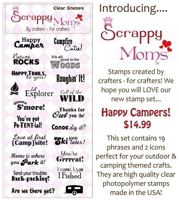 Introducing scrappy moms stamps created by crafters for crafters we hope you will love