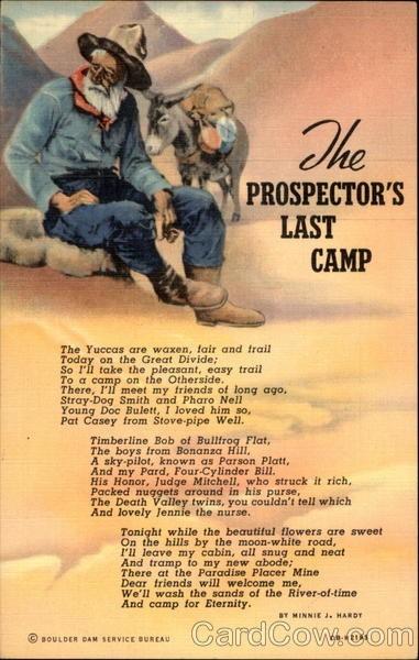 Me prospectors last camp