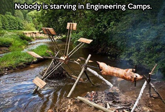 Nobody is starving in engineering cams