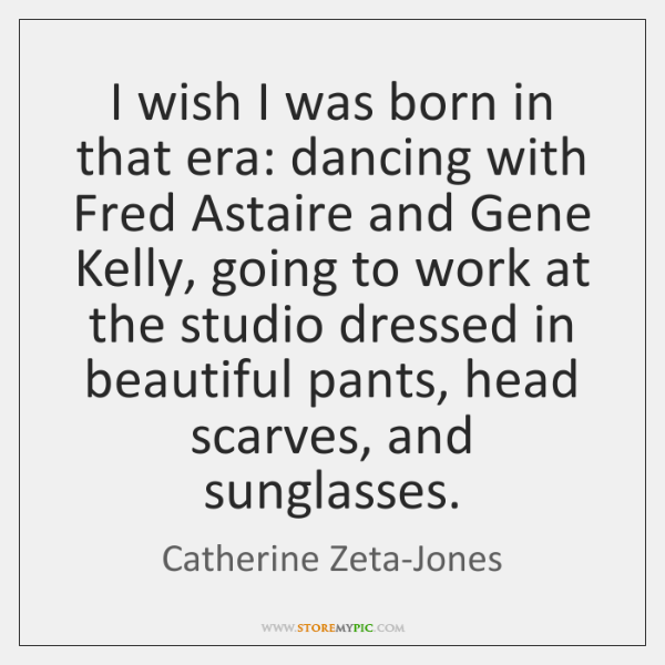 I wish I was born in that era: dancing with Fred Astaire ...