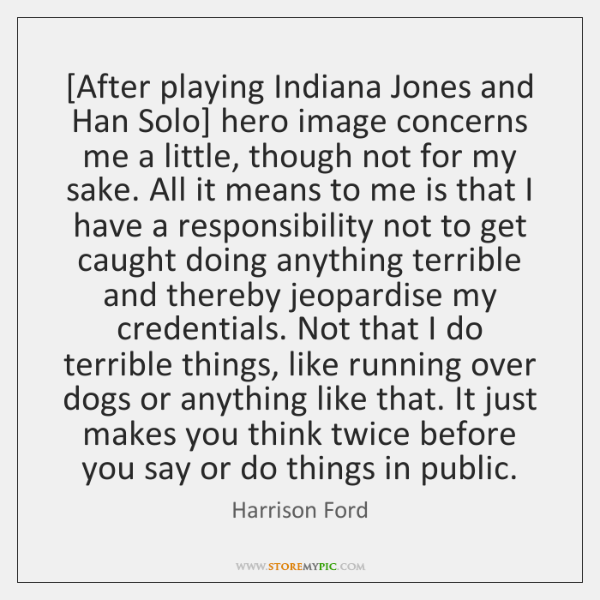[After playing Indiana Jones and Han Solo] hero image concerns me a ...