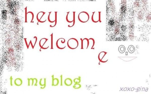 Hey you welcome to my blog