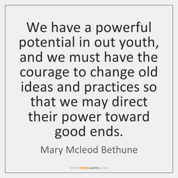 Mary Mcleod Bethune Quotes Awesome Mary Mcleod Bethune Quotes StoreMyPic