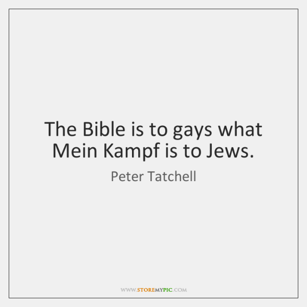 Mein kampf quotes homosexuality