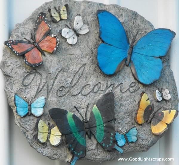 Welcome butterflies
