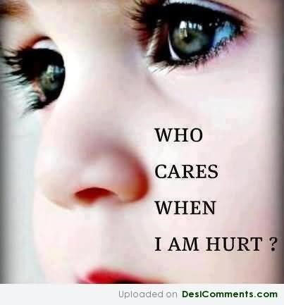 Who Cares When I Am Hurt Storemypic