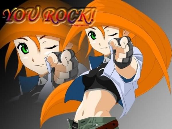 You rock anime