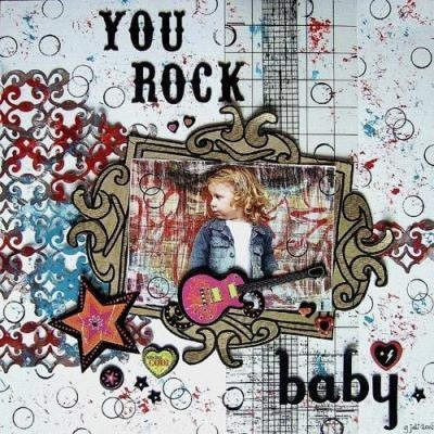 You rock baby 001