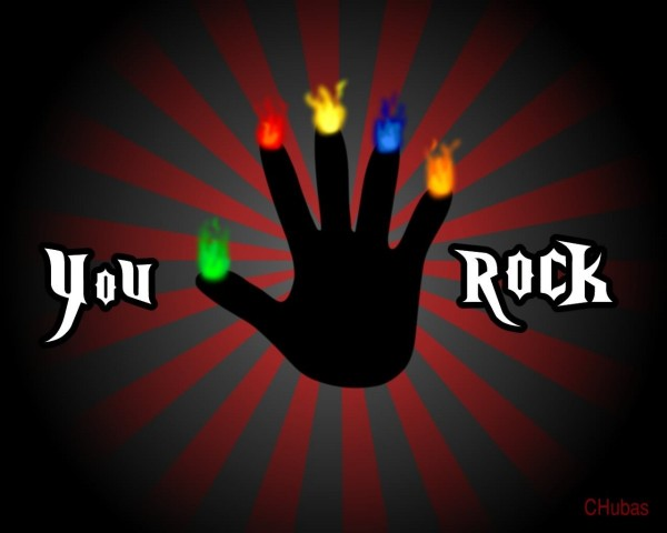 You rock hand