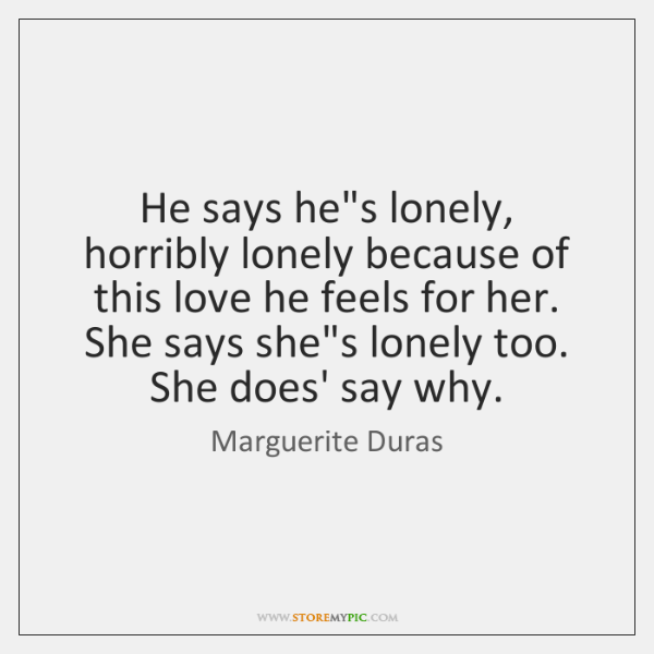 Marguerite Duras Quotes - StoreMyPic   Page 1