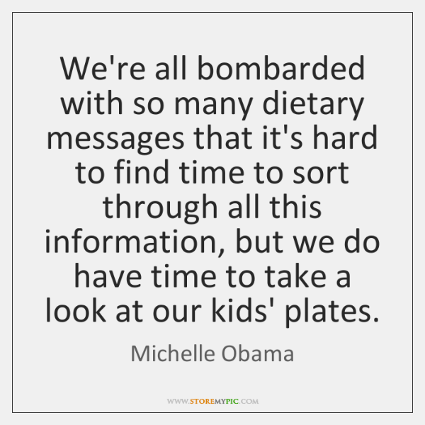 We're all bombarded with so many dietary messages that it's hard to ...