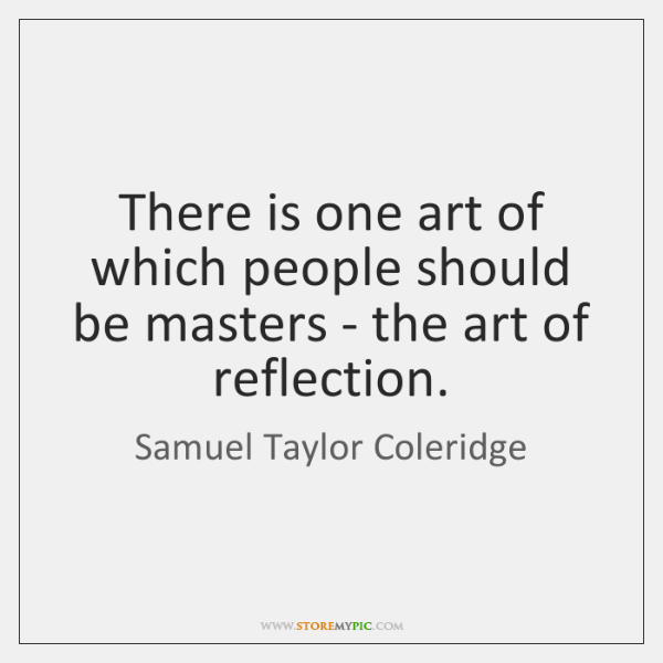 There is one art of which people should be masters - the ...