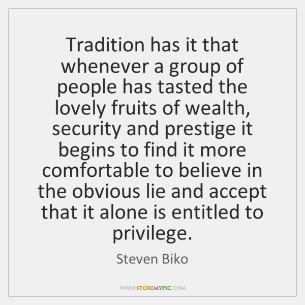 Tradition has it that whenever a group of people has tasted the ...