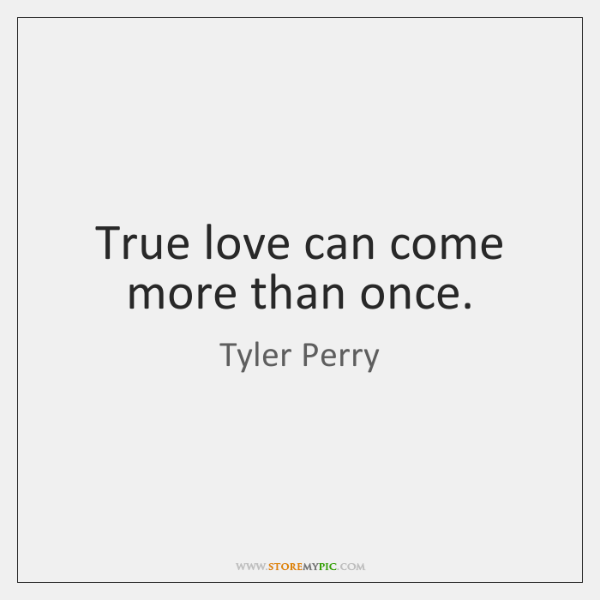 True love can come more than once.