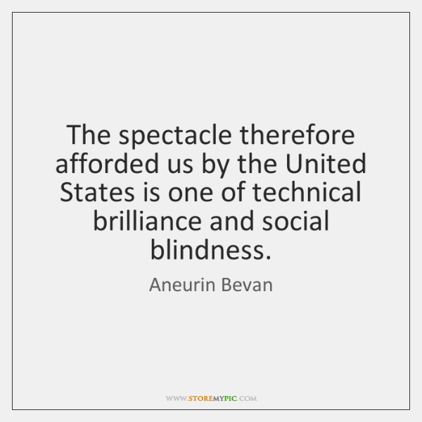 The spectacle therefore afforded us by the United States is one of ...