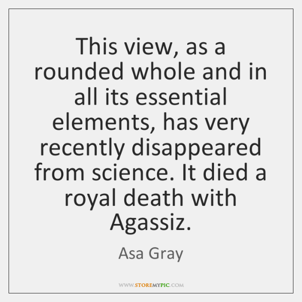 This view, as a rounded whole and in all its essential elements, ...
