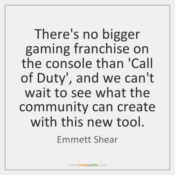 There's no bigger gaming franchise on the console than 'Call of Duty', ...